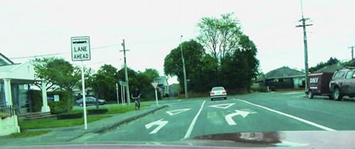 Straßenverkehr in Christchurch 2