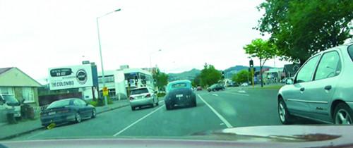 Straßenverkehr in Christchurch 3