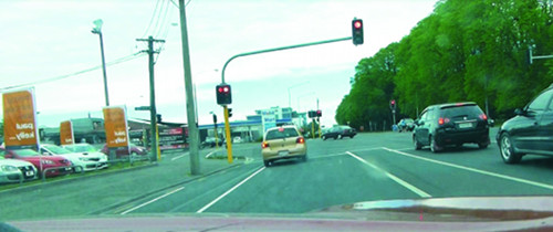 Ampelverkehr, Christchurch