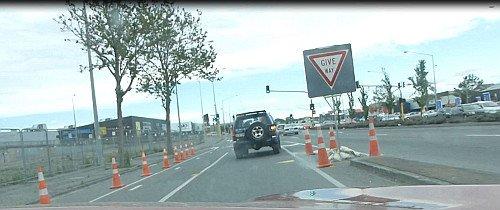 Straßenverkehr in Christchurch11