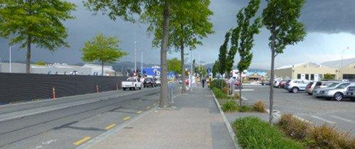 Straßenverkehr in Christchurch15