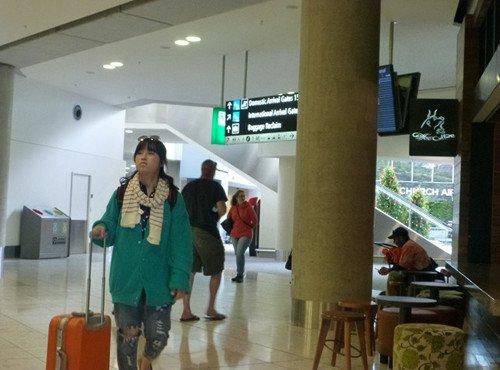 Flughafen Christchurch 2