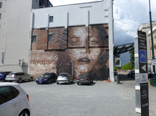 Christchurch City, Streetart