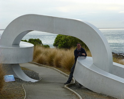 Kette am Stirling Point
