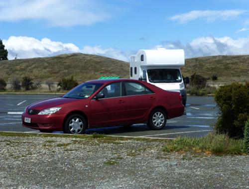 Parkplatz am Lake Pukaki