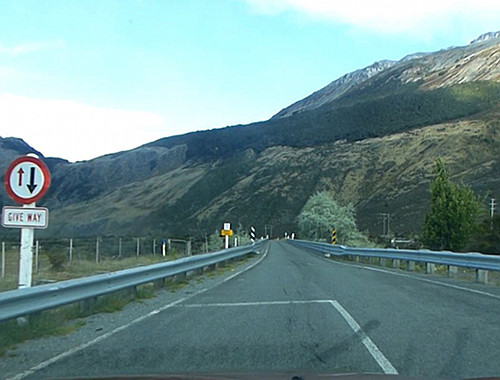 One Lane Bridge, NewZealand