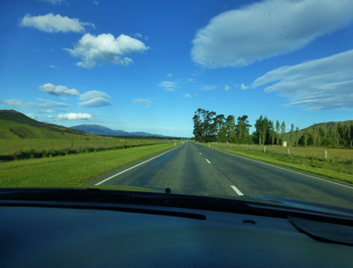 Richtung Orari Gorge