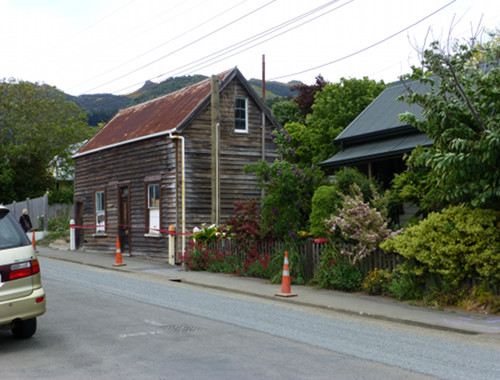 Akaroa altes Haus