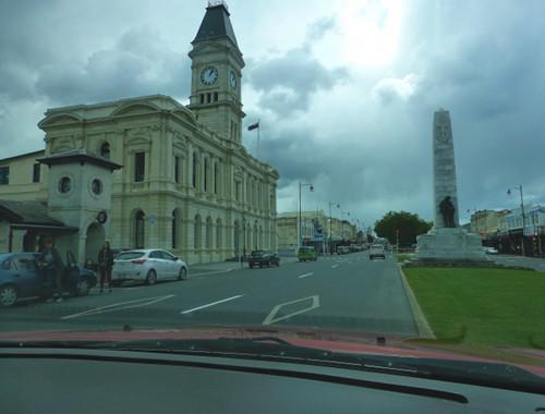 Oamaru NZ, Zentrum, Thamesstreet