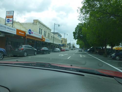 Oamaru NZ, Thamesstreet, Shops
