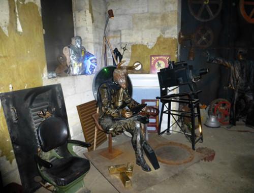 im Steampunk HQ Oamaru