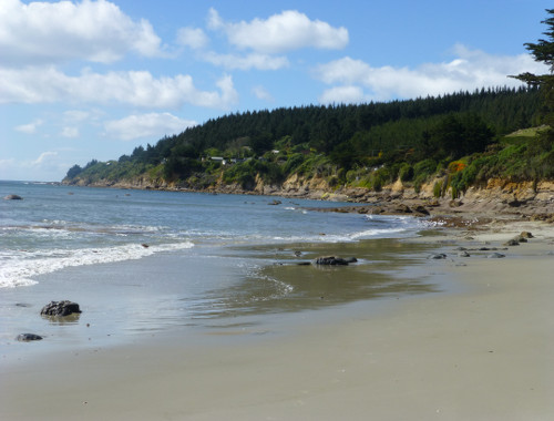 Strand bei Shagpoint, Neuseeland, Südinsel