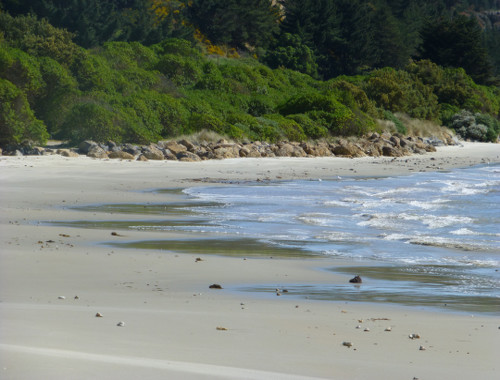 Strand bei Shagpoint 2, Neuseeland, Südinsel