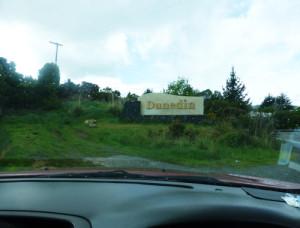 Dunedin Ortseingang
