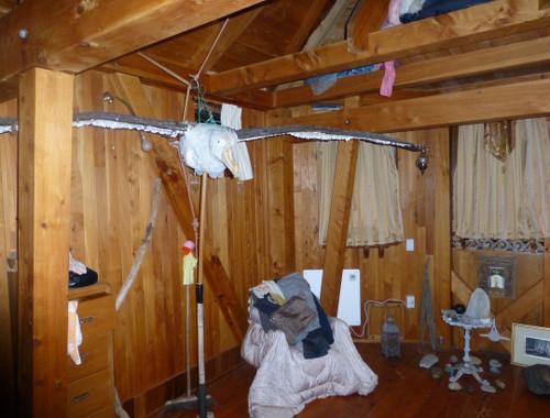 Aramoana Castle mein Zimmer