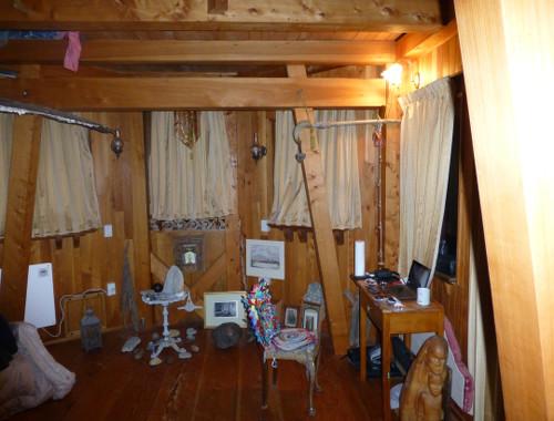 Aramoana Castle mein Zimmer 2