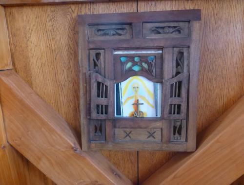 Aramoana Castle mein Zimmer, Detail