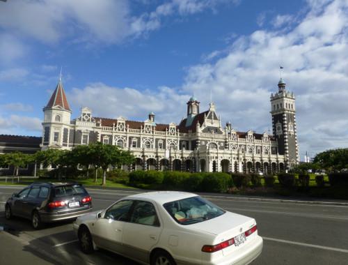 Dunedin historischer Bahnhof