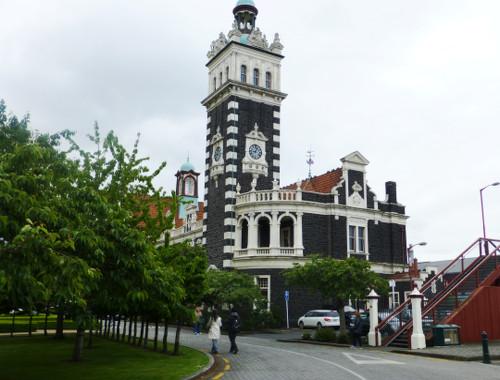 NZ. Dunedin Bahnhof