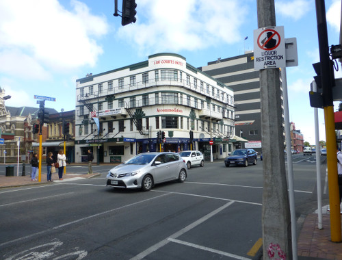 Dunedin, Cumberland, Ecke Stuartstreet
