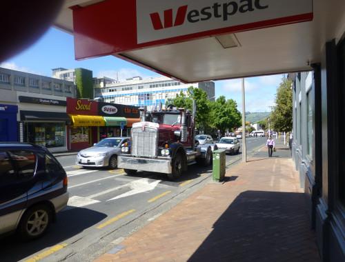 Dunedin, Georgestr.-Ecke-Frederickstreet