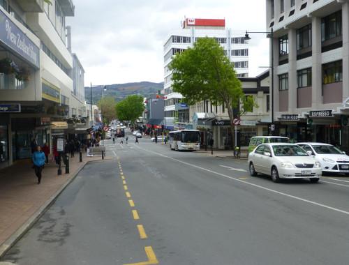Neuseeland,Dunedin, Princesstreet 1