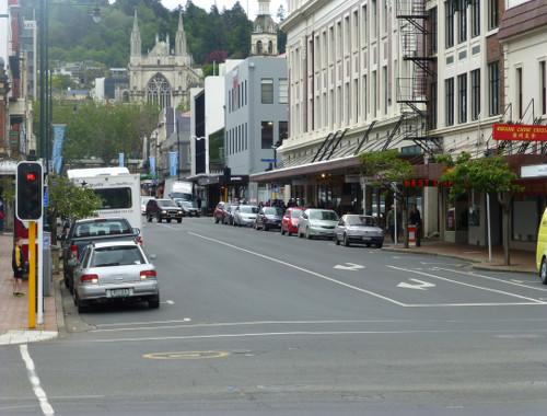 Dunedin, Neuseeland, Stuartstreet 2