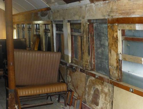 Steampunk-HQ Oamaru, alter Waggon, Führerhaus