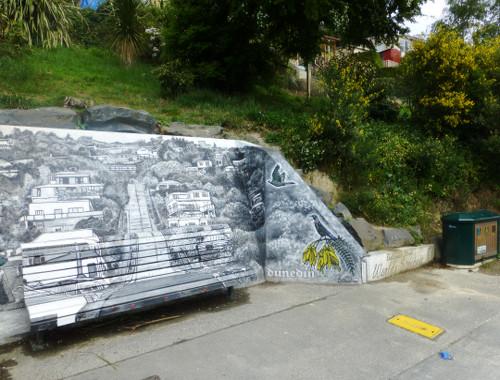 Baldwinstreet in Dunedin, ganz oben 3