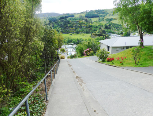 Baldwinstreet in Dunedin, ganz oben 5