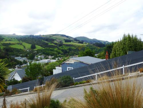 Baldwinstreet in Dunedin, oben