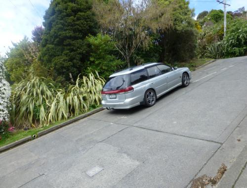 Baldwinstreet in Dunedin, oben 3