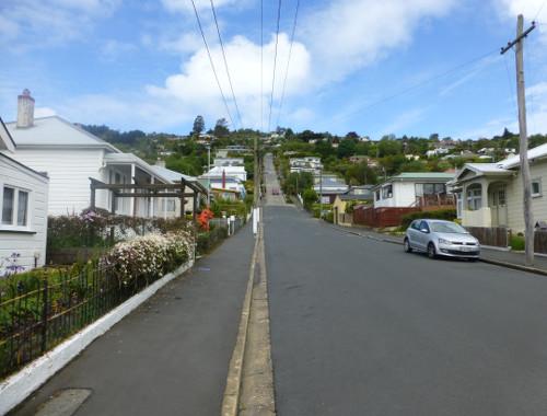 Blick in die Baldwinstreet Dunedin 3