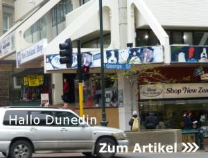 Dunedin, Neuseeland, Südinsel