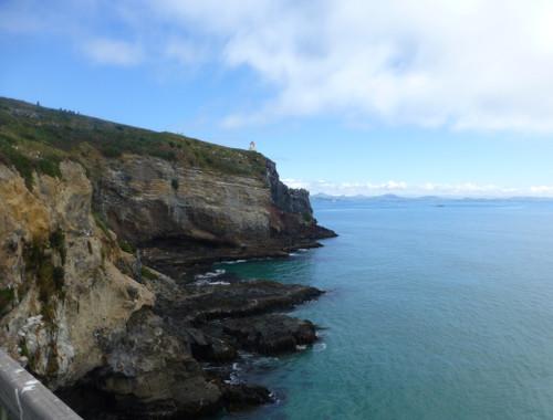 Am Royal Albatros Center Pazifikseite Blick nach Norden