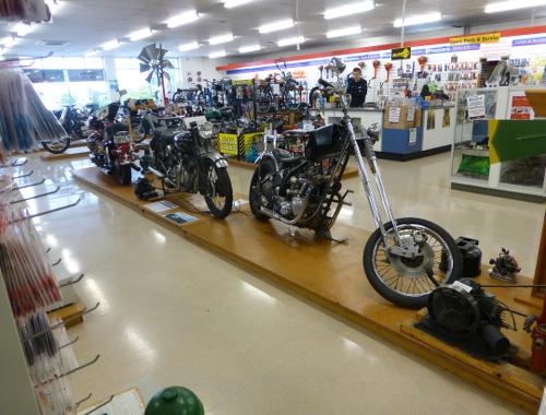 Werkzeugladen Invercargill, Oldtimerausstellung 18