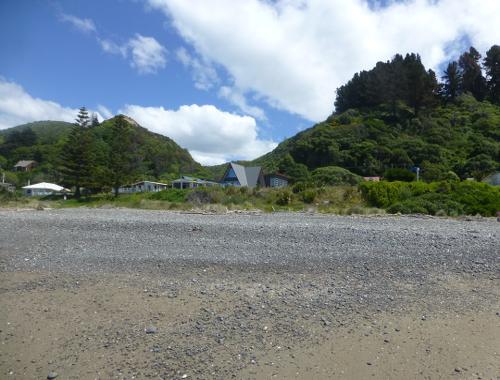Der Urlaubsort Gore Bay, NZ, 3