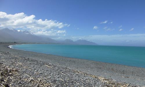 Kaikoura Beach, Neuseeland