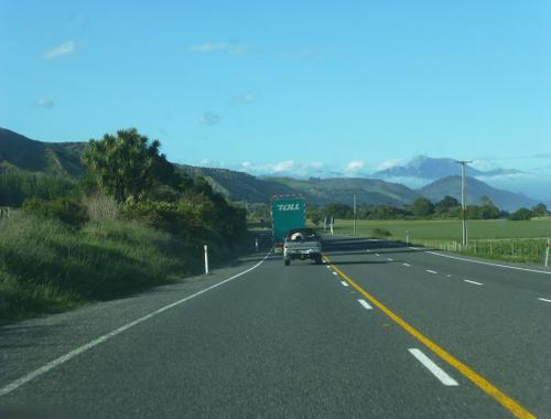 auf dem Weg nach Kaikoura, Neuseeland 2