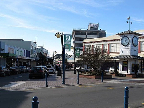 Blenheim, NZ, Marketstreet