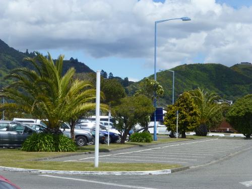Parkanlage am Hafen in Picton 1