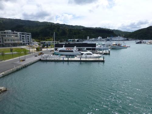 am Yachthafen in Picton Neuseeland 5