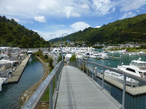 am Yachthafen in Picton Neuseeland 7