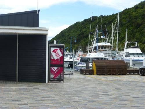 am Yachthafen in Picton Neuseeland 9