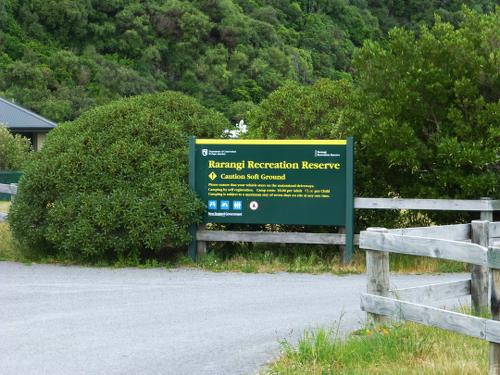 DOC Campingplatz - Rarangi, Neuseeland 9