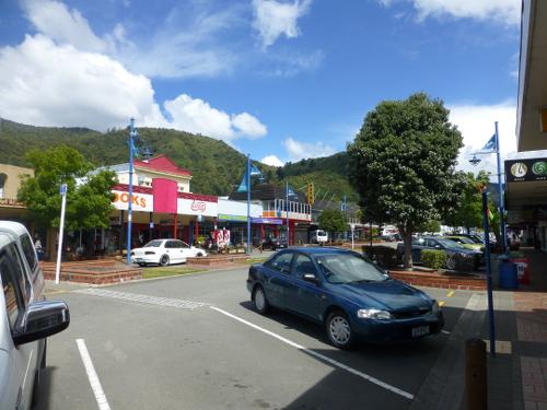 Zentrum von Picton Neuseeland