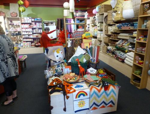 Neuseeland, Nelson, Hardy Street, Fairtrade, Trade Aid Shop