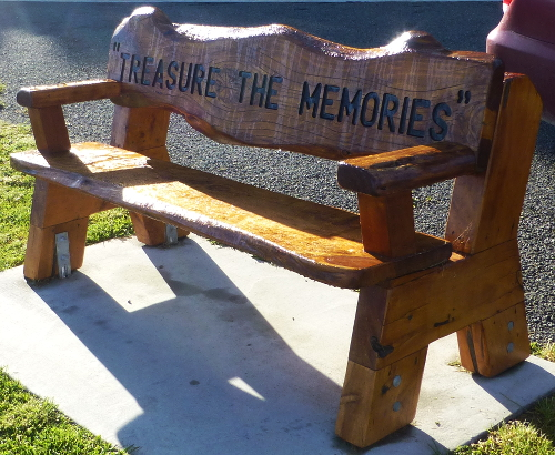 Queen Charlotte Drive, Bank: Treasure the Memories