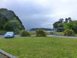 DOC Campingplatz am Lake Mahinapua NZ Westküste 2
