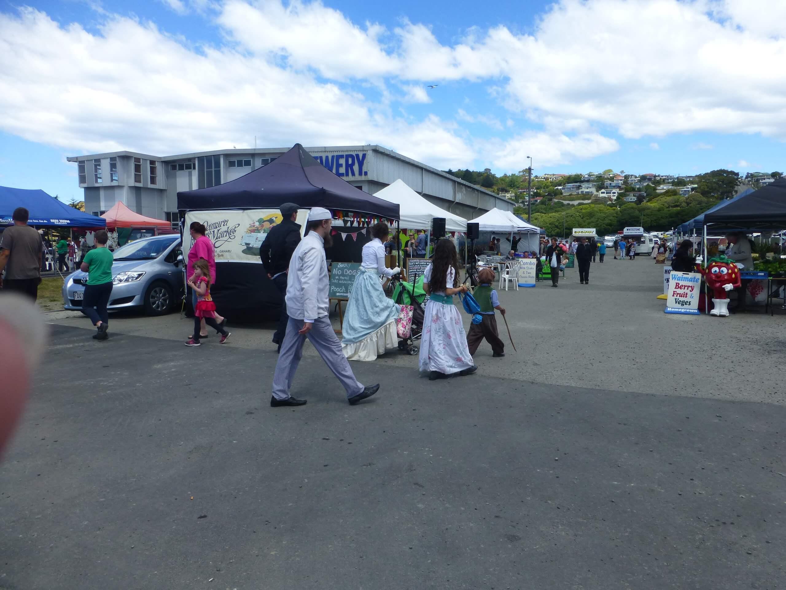 Auf dem Weg zum Viktorian Festival in Oamaru 10
